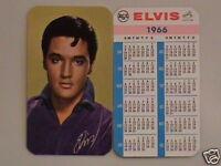 1966 Elvis Presley Wallet Calendar Near Mint/Mint Cond.