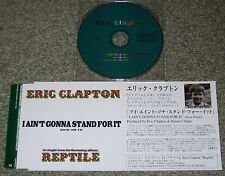 ERIC CLAPTON Japan PROMO ONLY 1 track CD SINGLE promo sleeve OFFICIAL others ava