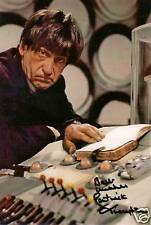PATRICK TROUGHTON DR WHO SIGNED AUTOGRAPH 6 x 4 inches VINTAGE PRE PRINTED PHOTO