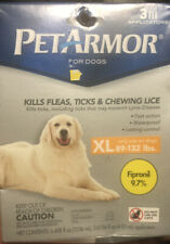 PetArmor for Dogs, Flea and Tick Treatment for Extra Large Dogs 89-132 Pounds