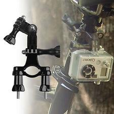 Bike Handlebar Seatpost Pole Mount Holder for GoPro Hero 3/2/1 Camera Black