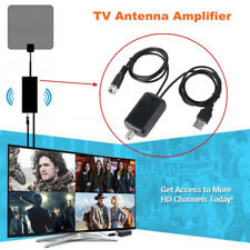 For Cable TV Fox Antenna HD Channel 25DB Digital HD TV Signal Amplifier Booster