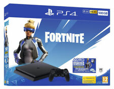 Sony PlayStation 4 500GB Fortnite Neo Versa Console Bundle - Jet Black