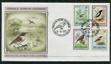 FIRST DAY COVER.... Birds on Stamps.  PNG  1993  small birds