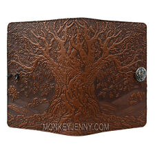 "Tree of Life Saddle 5""x7"" Small Leather Journal Oberon Design COMBINED SHIPPING"