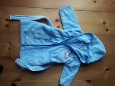 Bademantel hellblau Gr. 80 Topolino sehr gut erhalten