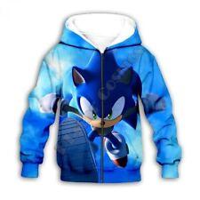 Sonic The Hedgehog Sonic The Hedgehog Hoodie Hoodies 2 16 Years For Boys For Sale Ebay