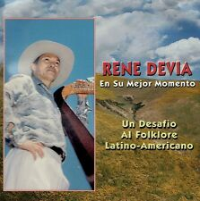Rene Devia En Su Mejor Momento - Un Desafio Al Folklore Latino-Americano CD Harp