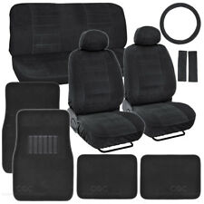 Black Encore Car Seat Covers & Car Floor Mats for Auto Accessories Classic