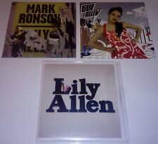 LILY ALLEN - Lot of 3 CD singles (2 PROMO ) - ALL MINT