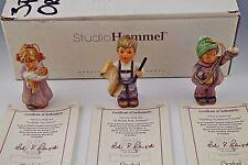 Studio Hummel Berta Hummel Goebel Set Of 3 Christmas Ornaments With Box Coa #3