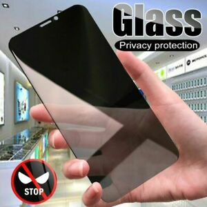 Screen Protector for iPhone XR,X,11,12 Pro MAX PRIVACY FULL COVER TEMPERED GLASS