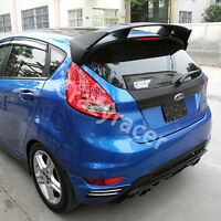 Unpainted Rear Roof Spoiler Wing for Ford Fiesta MK7 Hatcback 2008-14 RS Style