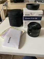 Sigma DN 30mm f/2.8 DN For Sony E Mount