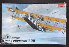 Roden Felixstowe F.2A 1/72 Scale Model Kit