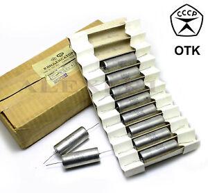 4 pcs 0.33uF 0,33uF .33uF 500V 10% K75-10 PIO Audio Capacitors USSR NOS