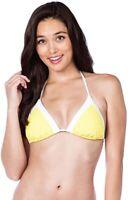 Trina Turk Women's 182340 Triangle Halter Bikini Top Swimwear Size 6