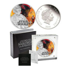 2016 Star Wars Poe Dameron Silver Proof $2 Coin - The Force Awakens