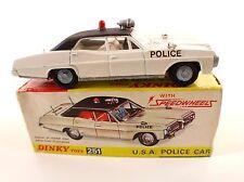 Dinky Toys Gb n° 251 Pontiac Parisienne USA police car en boîte
