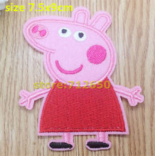PEPPA PIG EMBROIDED PATCH BABY CHILD TODDLER PRAM COT PAW PATROL STOLLER NAPPY