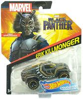 Hot Wheels Marvel Black Panther Erik Killmonger Character Car 2017