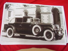 1930 PACKARD TOWN CAR  BIG   11 X 17  PHOTO   PICTURE