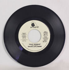 "45RPM Record ""Easy Woman"" David LaFlamme Promotional Pressing 1976 Amherst AM721"