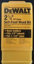 """Dewalt 2-1/4"""" self-feed wood bit NEW DW1638"""