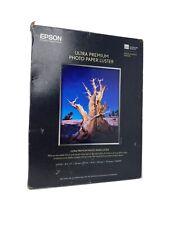 Epson S041405 8.5x11 50 Sheets Ultra Premium Photo (Luster) Inkjet Paper