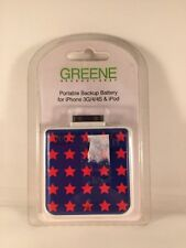 Star Portable Backup Battery for iPhone 3G/4/4S and iPod MSRP $40.00