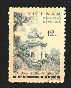 North Vietnam 1960 - Hung Vuong Temple Sc#120 Very Fine Used