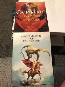 Boris Vallejo Books X2 Enchantment & Great Masters Of Fantasy Art