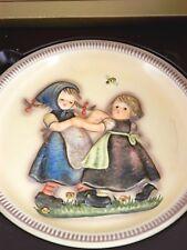 "Hummel, Goebel 2nd Edition Anniversary Plate ""Spring Dance"" 1980, No Box"