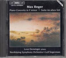 Piano Concert In F Minor • Suite Im Alten Stil : Max Reger