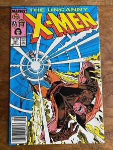 UNCANNY X-MEN 221 MARVEL COMIC 1ST MISTER SINISTER CLAREMONT SILVESTRI 1987  2