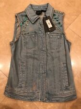 Armani Exchange Vest With Color Studs, Xsmall. MSRP $148