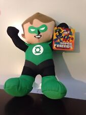 """Toy Factory DC Super Friends GREEN LANTERN Plush Toy 9"""" Doll NEW Free S&H"""