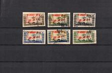 Liban POSTALLY  Used  SET OF SOUVENIR CUT STAMPS - IMPERFORATED   LOT ( LEB 360)
