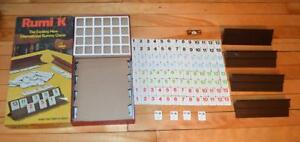 VTG 1977 Rumi K International Rummy Game from Cadaco, No.570 complete