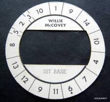 Cadaco All-Star Baseball Game Disk Willie McCovey 1st Base Giants
