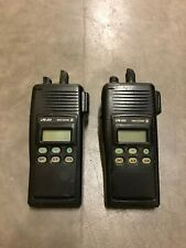 Lot of TWO (2) GE Ericsson LPE 200 800 MHz Two Way Radios