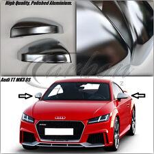 New Audi TT MK3 8S 2014-2017 Polished Aluminium Mirror Covers TTS/TTRS/TFSI