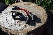 HARLEY SPORTSTER COIL + KEY RELOCATION RELOCATE BRACKET KIT W/ PLUG WIRES 07-17