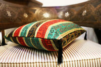 Neu Kissenbezug,Kissenhülle,Orientalische Dekokissen, Damaskunst 4015
