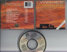 CANNED HEAT On The Road Again 1989 CD EMI GOLD