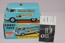 Corgi Toys 441 Volkswagen Toblerone perfect mint in box all original condition