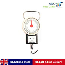 TRAVEL SCALE  SUITCASE BAGGAGE LUGGAGE WEIGHING SCALE HOOK WEIGHT 22KG