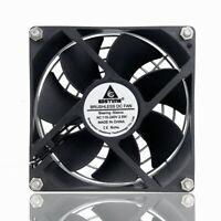 AC 110V 120V 220V 240V 92mm x 92mm x 25mm Computer Cooling Fan With Grill Screws
