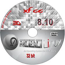 Robolinux 8.10 Xfce 32 Bit costruito nel software per eseguire XP-Windows 10 in ROBO Linux