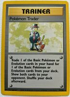 POKEMON TRADER Base Set 77/102 * Rare Trainer Pokemon Collector Card Unlimited